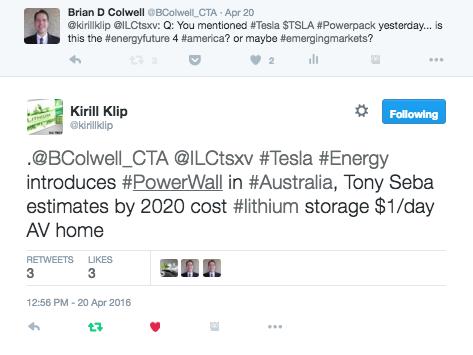 Tesla Twitter Conversation
